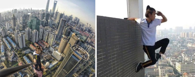 Daredevil dies after fall during stunt on high-rise building