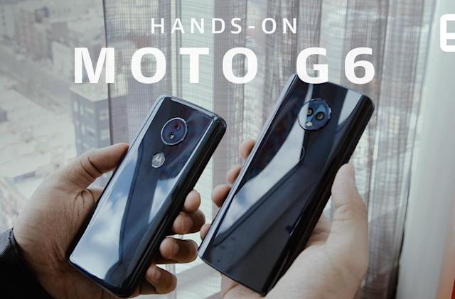 Motorola aims to keep the cheap phone crown with the G6 and G6 Play