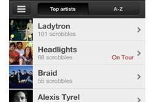 Last.fm releases Scrobbler for iOS