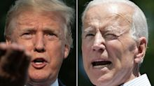 Trump was visibly annoyed after a Fox News reporter corrected him on his false claim about Joe Biden
