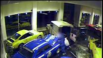 Thieves steal $180,000 car off showroom floor
