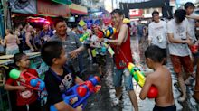 Getting wet and wild on Thailand's streets during Songkran 2018