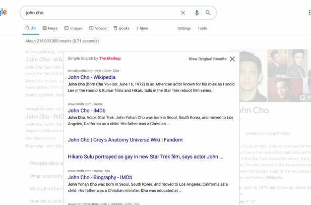 This browser extension shows Google Search like it's 1998 all over again