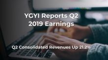 Youngevity International, Inc. Reports 2019 Second Quarter and Six Months Results; Q2 Consolidated Revenues Up 21.2%