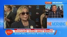Roseanne Barr signs away rights to spin-off show