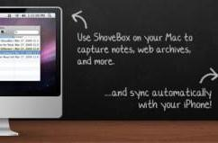 ShoveBox for Mac and iPhone