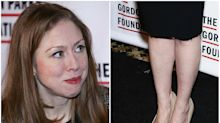 Why do we care how worn Chelsea Clinton's shoes look?