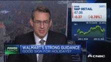 Does Walmart's strong guidance bode well for the holidays...