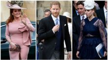 Prince Harry attends royal wedding without Meghan Markle