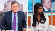 Susanna Reid brands Piers Morgan a hypocrite after ignorant Trump protest comments