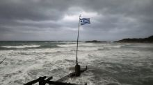 Rare Mediterranean storm batters western Greece, Ionian islands
