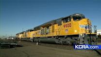 New technology helps reduce train emissions