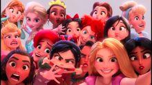 Stormtroopers y las princesas Disney en pleno selfie se cuelan en el nuevo tráiler de Ralph Rompe Internet