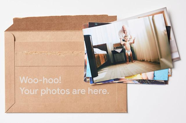 Google revives its AI-fueled photo printing service