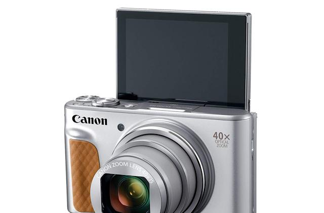 Canon's selfie-oriented point-and-shoot now handles 4K video