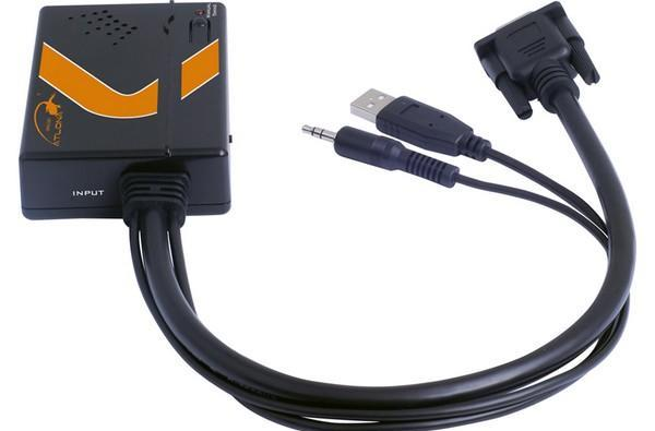 Atlona's VGA to HDMI adapter ditches the brick, does 1080p on USB power