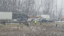 Deadly Chain of Car Crashes on Icy I-96 in Michigan Kills at Least 3