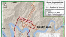 OROCO ANNOUNCES ITS 3D INDUCED POLARIZED SURVEY RESULTS