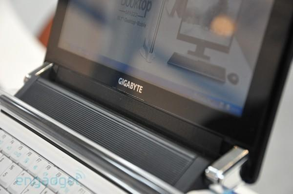 Hands-on with Gigabyte's new netbooks, all-in-one PC and peripherals