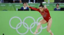 Raisman keeps eye on Tokyo during 'crazy' downtime