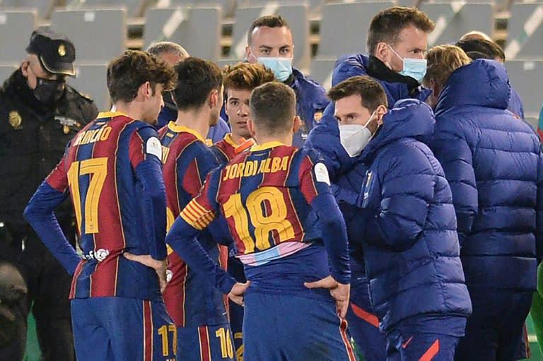 Koeman hopeful on Messi fitness for Super Cup final