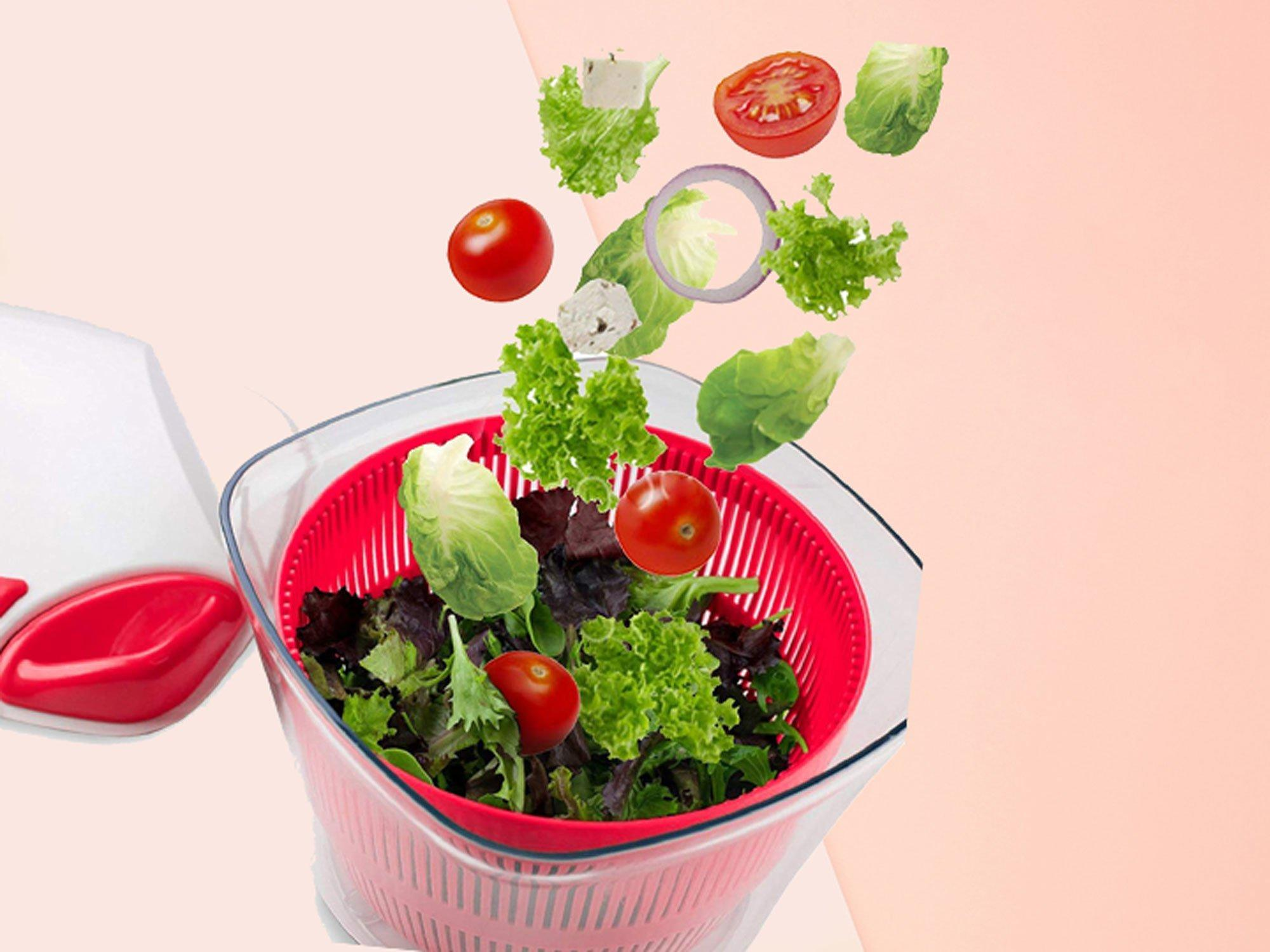 Best Salad Spinner 2020 This Award Winning Salad Spinner Is Climbing Amazon's Best Selling