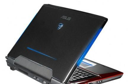 ASUS G71Gx boats of GeForce GTX 260M graphics, other extravagances