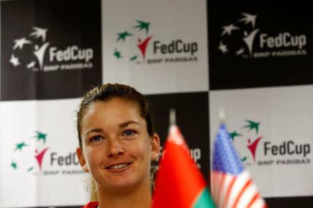 Tennis - Fed Cup - Belarus v United States