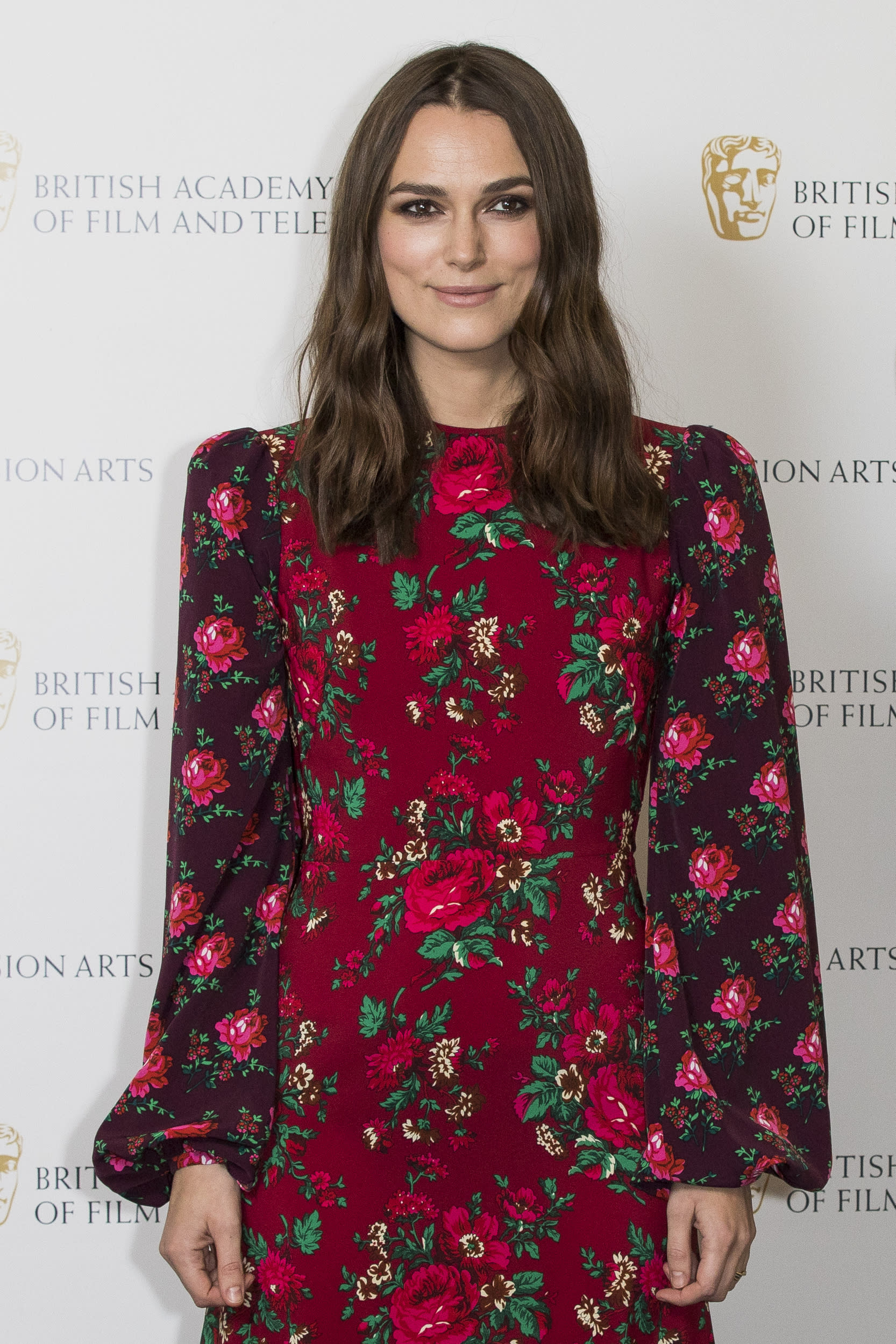 LONDON, ENGLAND - DECEMBER 17: Keira Knightley attends her 'A Life In Pictures' photocall at BAFTA on December 17, 2018 in London, England. (Photo by Tristan Fewings/Getty Images)