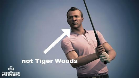Tiger Woods PGA Tour 14 steps onto the retail green March 26