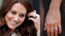 鑽石不是唯一選擇!這些彩色寶石訂婚戒指也很美!