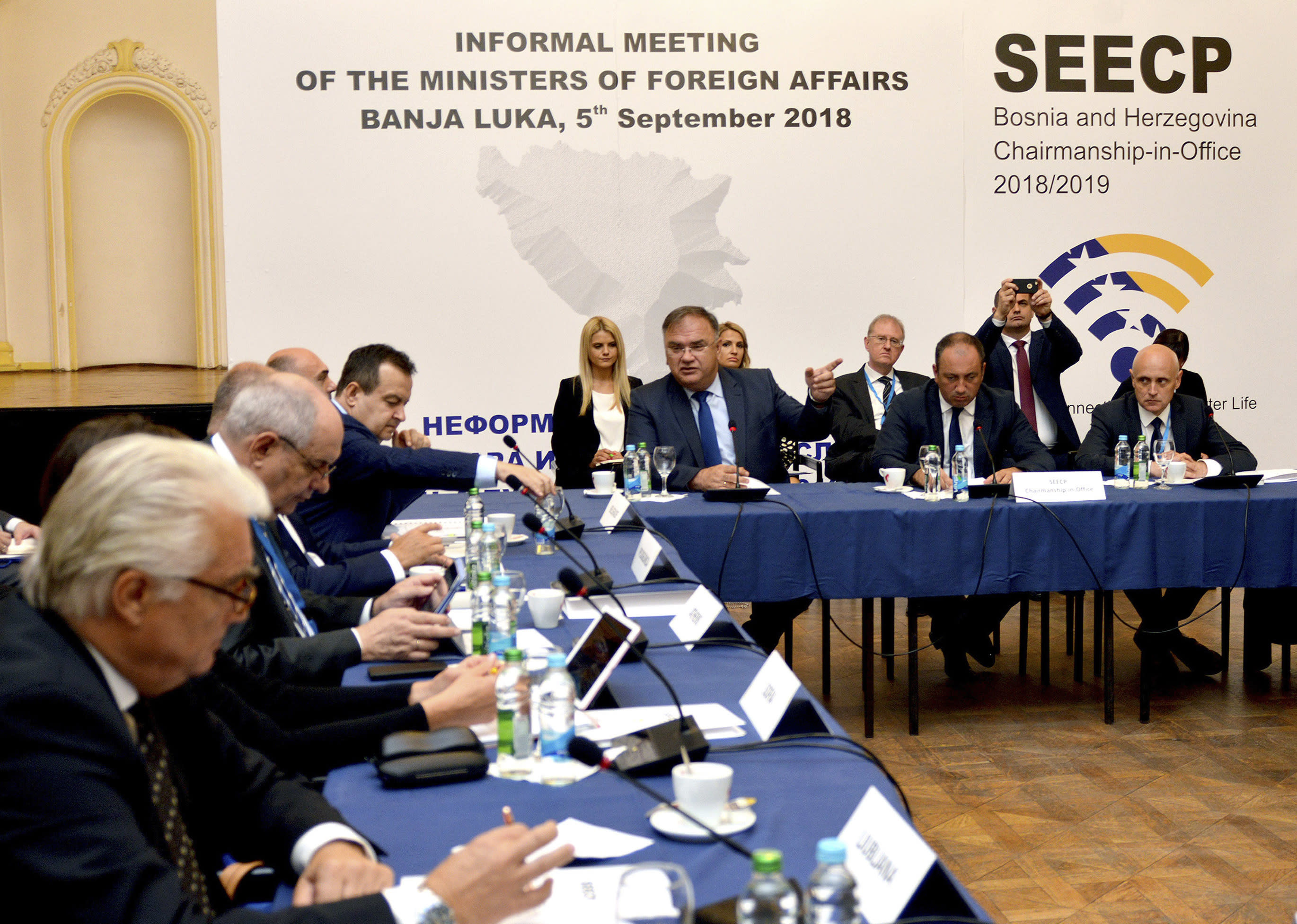 Balkan officials discuss cooperation, but without Kosovo