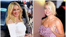 Holly Willoughby and Kylie Minogue join stars marking Valentine's Day