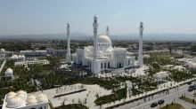 Russia's Chechnya inaugurates what it says is Europe's largest mosque