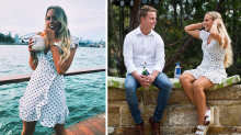 Bachelor's Cass Wood 'is dating the Honey Badger's brother'
