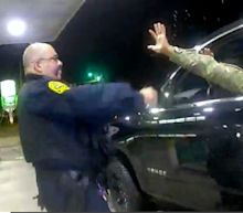 The Virginia police officer who was filmed pepper-spraying a uniformed Black Army officer after holding him at gunpoint has been fired