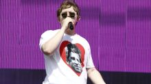 Lewis Capaldi fuels row with Noel Gallagher by kissing his daughter