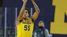 Michigan's Eli Brooks a game-time decision vs. Maryland