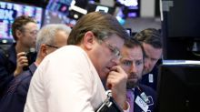 Defensive stocks help S&P, Dow eke out gains, offset tech pressure