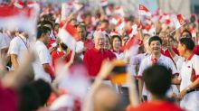 Tribute segment for Lee Kuan Yew at SG50 National Day Parade