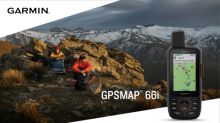 Garmin's flagship handheld navigator meets global communication with new GPSMAP® 66i