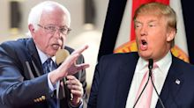 'Pathological liar' vs. 'Crazy Bernie': What Trump and Sanders have said about each other