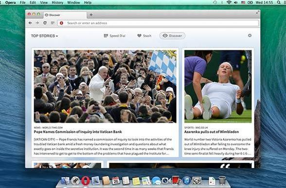 Opera 15 Chromium-based browser officially launched for PC and Mac