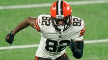Browns GM Andrew Berry responds to Rashard Higgins' contract comments