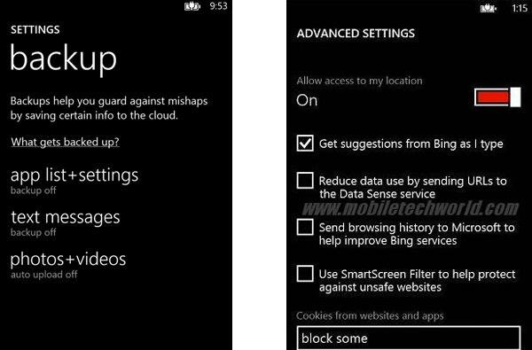 Windows Phone 8 SDK leaks show quiet upgrades to backup, media and the kitchen sink
