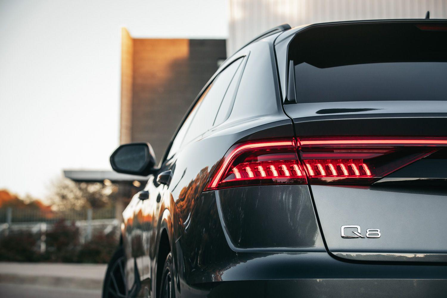 Detailed Photos of the 2019 Audi Q8 Luxury SUV