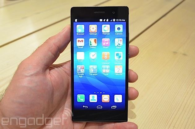 Huawei's Ascend P7 wants to be the LTE phone of the people