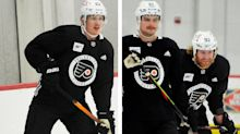The latest standard set by Claude Giroux has Flyers teammates pushing to come back