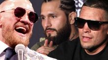 Conor McGregor could leap into welterweight title shot if Jorge Masvidal opts for Nate Diaz