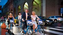 Why I Made My Wedding Party Ride Bikes to the Reception